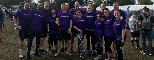 Mucky Pups take on Tough Mudder challenge