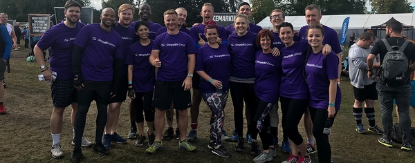 SimplyBiz Group take on Tough Mudder for second year